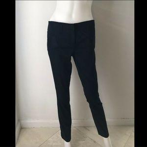 Marciano Women's Pants Elegant Black Flat Front 8